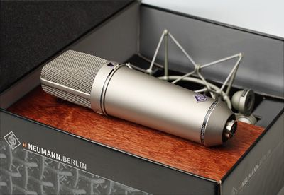 """Neumann U87  The SOS award went to products, that """"have made our lives in the studio all the more enjoyable"""". It is a further evidence for the reputation of the U 87 Ai as the world famous, professional standard studio condenser microphone. Until today the U 87 sets the mark in the microphone industry by which all others are measured."""