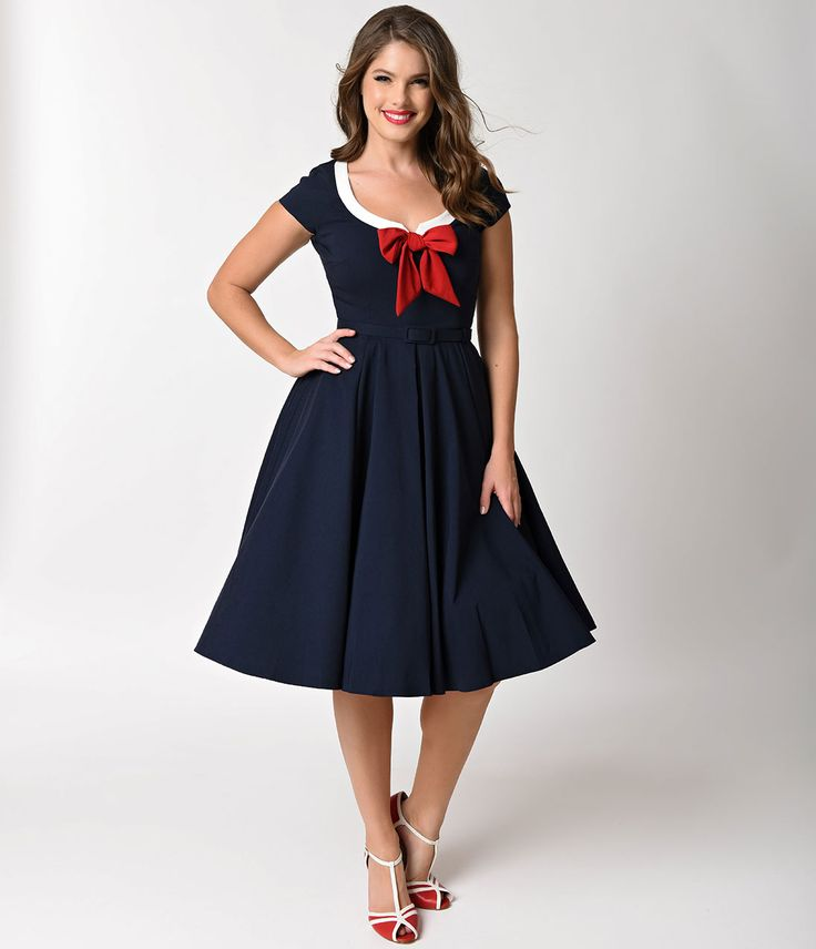Vintage Style Dresses 30s 40s 50s And 60s 1950s Style 1950s And Swings