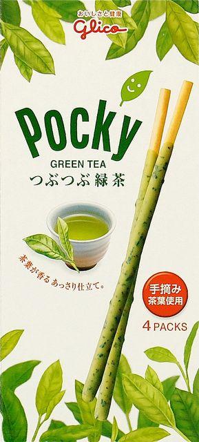 Green Tea Pocky, Glico