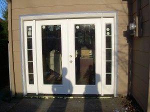 garage door conversion
