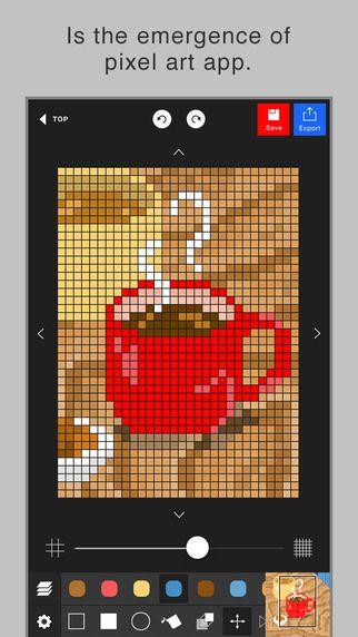 Pixel art editor - Dottable - by Yosuke Seki