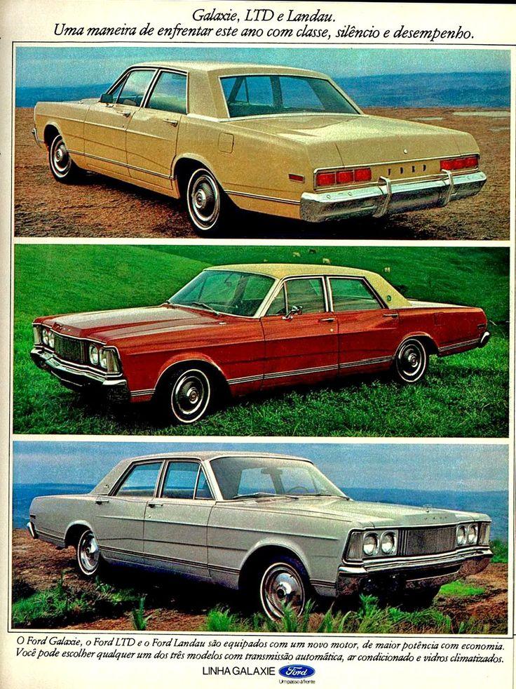 Anúncio Ford Galaxie - 1976