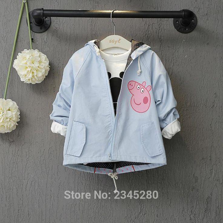 Peppa Pig Girl Jackets