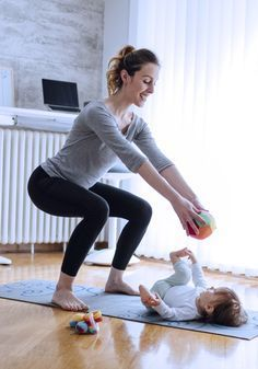 After-Baby-Body: Geniale Ideen für dein Workout mit Baby!