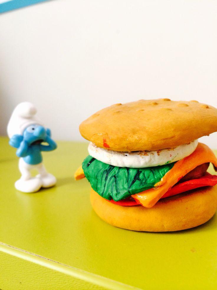 Wow!  Hamburger!