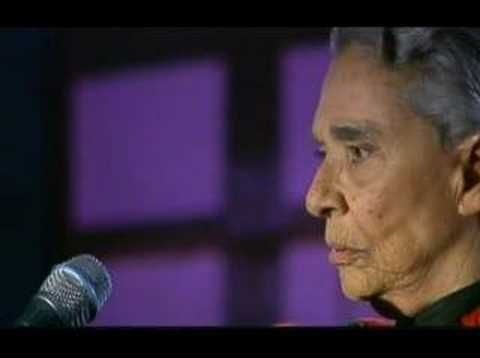 Chavela Vargas is dead at age 93 as of August 5, 2012.  A Costa Rican-born Mexican singer, Chavela defied cultural stereotypes to become tremendously successful in Mexico, the United States, France and Spain the 1950s, 1960s and the first half of the 70s.  Adios, la Diva bonita.