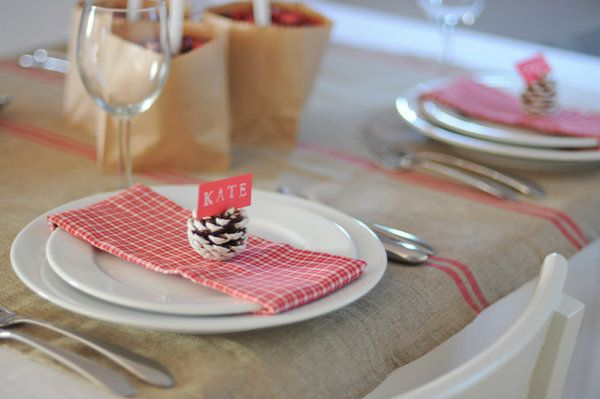 { simply pretty wedding: Simple pink table decor }