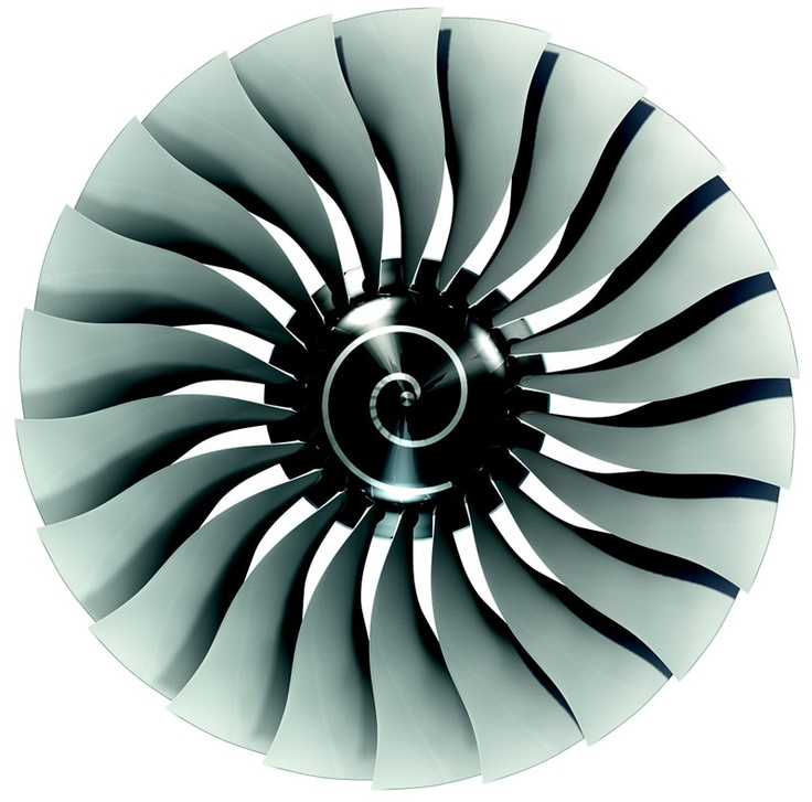 Jet Engine Fan Blades : Turbofan do fan blades use bell shaped lift distribution