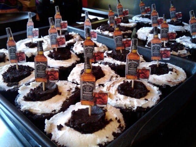 Jack daniels and coke cupcakes uk