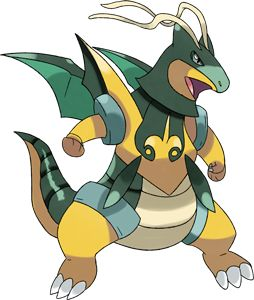Pokémon Mega-Dragonite-Blade, Id: 8147, Class: Mega - PokemonPets, Free Online Pokémon MMO RPG Browser Game