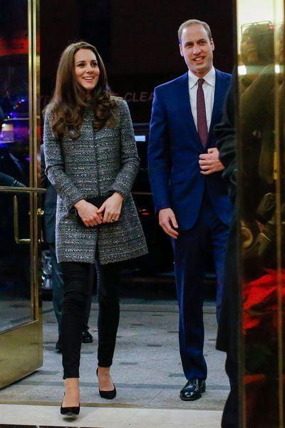 Kate Middleton, enceinte, en fuchsia pour sa dernière sortie officielle - L'Express Styles