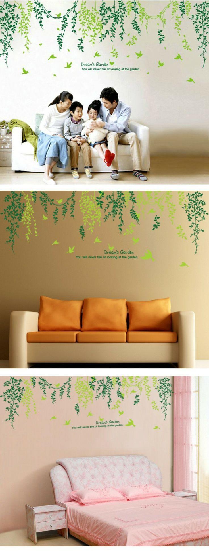 33 best vinil images on pinterest ideas para wall stickers and home naturaleza colgando del techo probarwall stickersideas