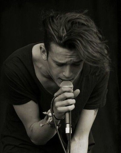 Matty Healy from The 1975, I am so in love.