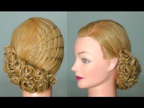 ▶ Прическа: Французский водопад. Waterfall twist hairstyle tutorial - YouTube