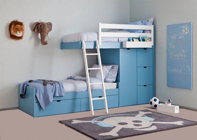 17 meilleures id es propos de lit superpos double sur. Black Bedroom Furniture Sets. Home Design Ideas
