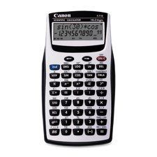 Canon F-710 Scientific Calculator - 139 Functions - 2 Line(s) - 12 Character(s) - LCD - Battery Powered - 0.5 x 3.2