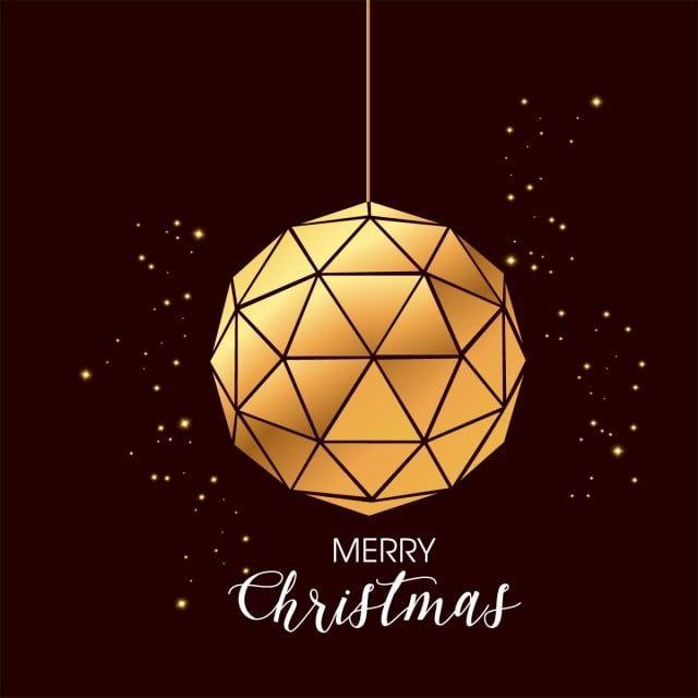 مضلع ذهبي خلفية التصميم دعوة عيد ميلاد سعيد عيد ميلاد سعيد عيد الميلاد Png والمتجهات للتحميل مجانا Paper Lamp Novelty Lamp Ceiling Lights