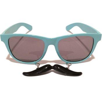 Bıyıklı Mavi Parti Gözlük