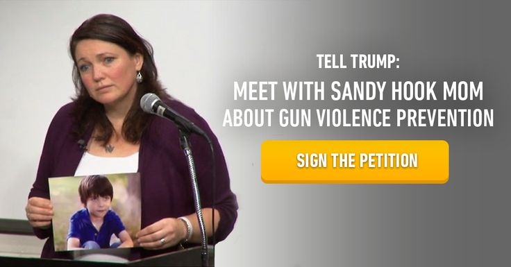 The Trump administration showed an appalling lack of decency and ignorance on the 5-year mark of the Sandy Hook tragedy. Sign the petition now to demand they meet with Sandy Hook Promise and discuss ways to prevent gun violence and save lives.