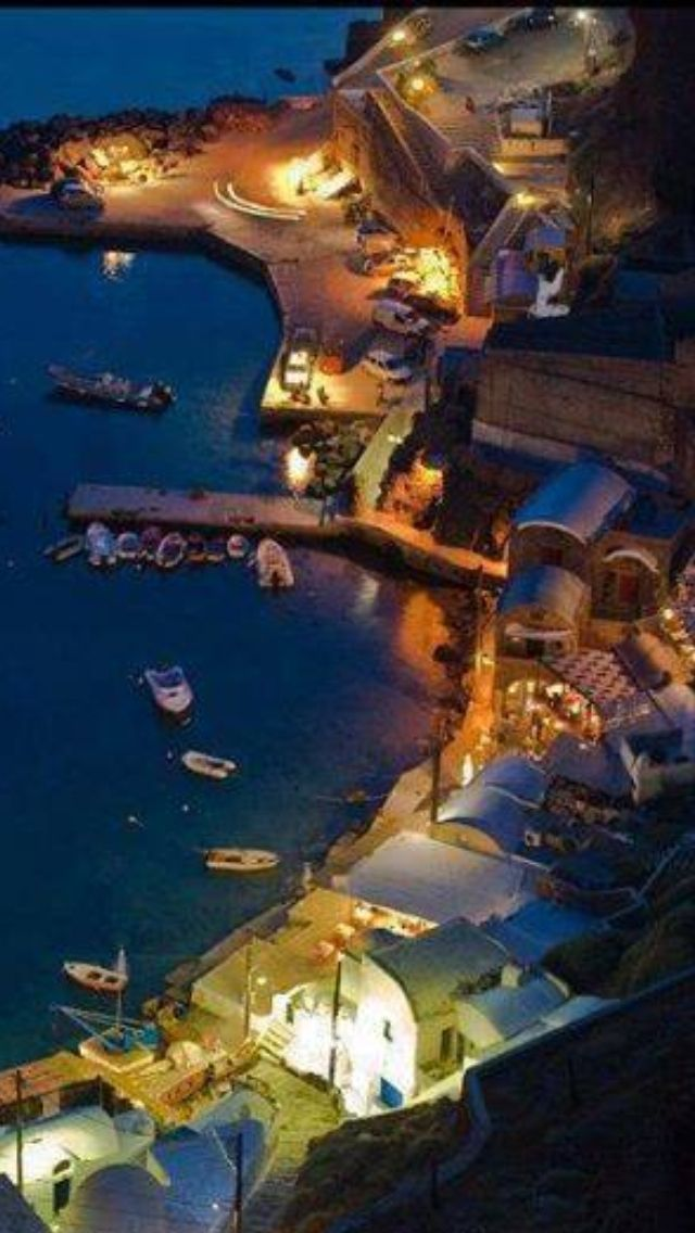 Zakynthos, Greece at night