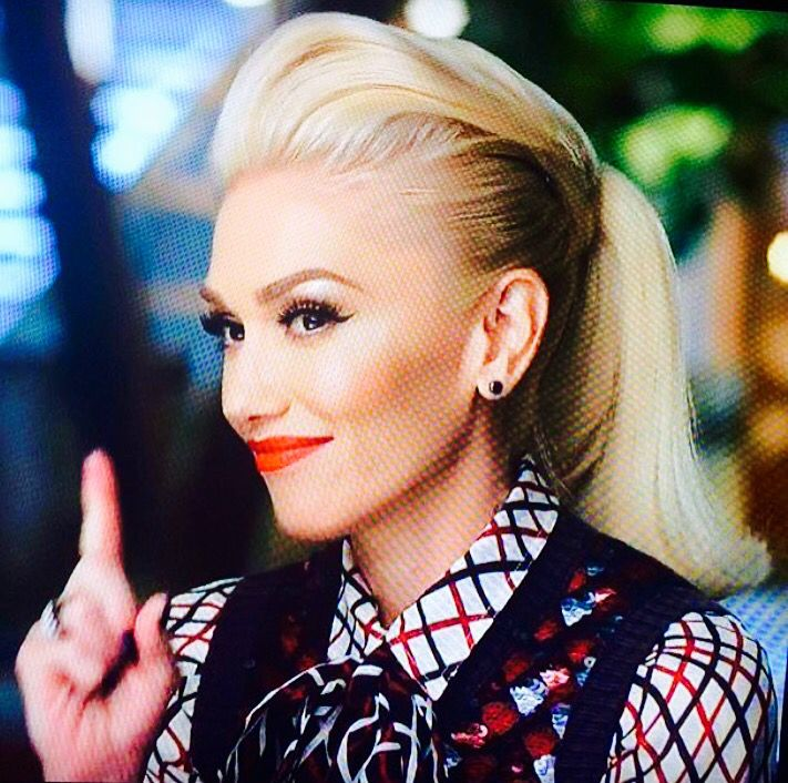Gwen Stefani, one of my fave looks from the new The Voice season 2015.