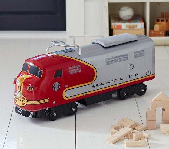 Santa Fe Train Ride On In 2020 Model Trains Kids Ride