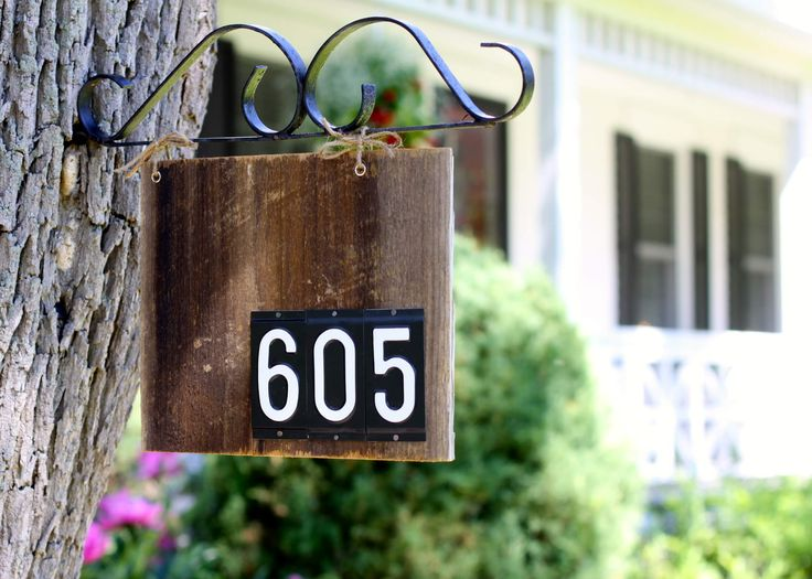 23 Best House Numbers Images On Pinterest House Numbers Outdoor