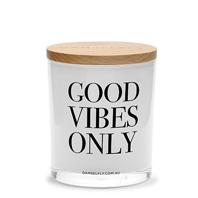 Good Vibes - XL Candle from DAMSELFLY