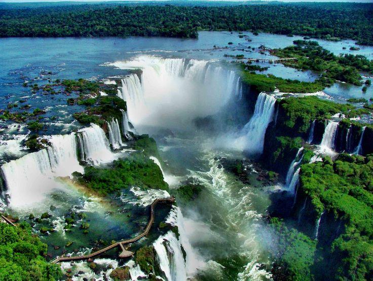 Las Cataratas del Iguazú.