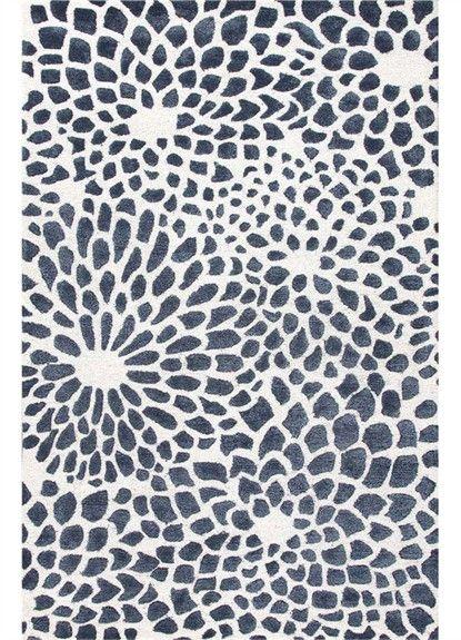 Round star cowhide rugs
