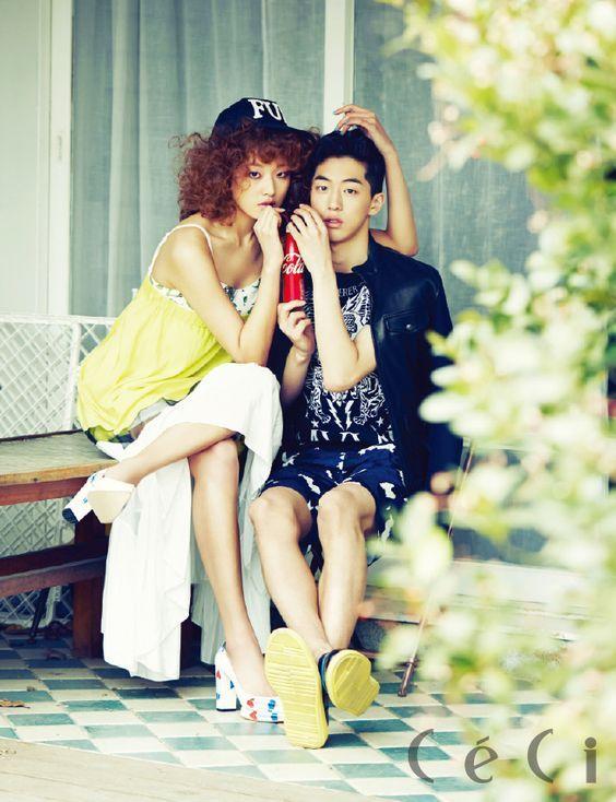 my boy with Choi Ara   - Ceci Magazine February Issue '14-2
