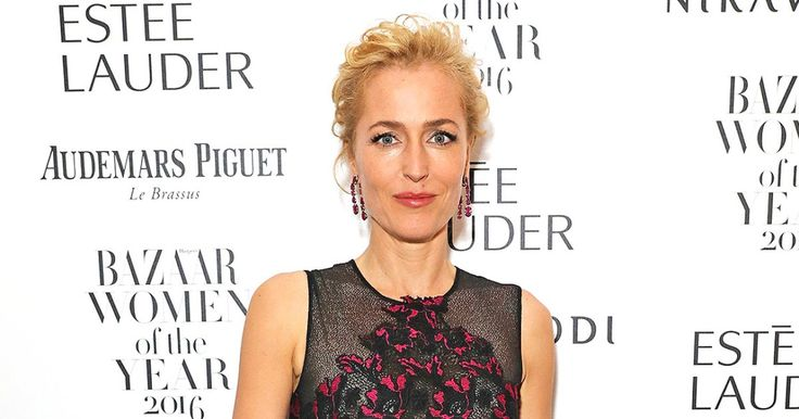 Actress Gillian Anderson talks about her complicated history with perimenopause and the depression and anxiety that came with it