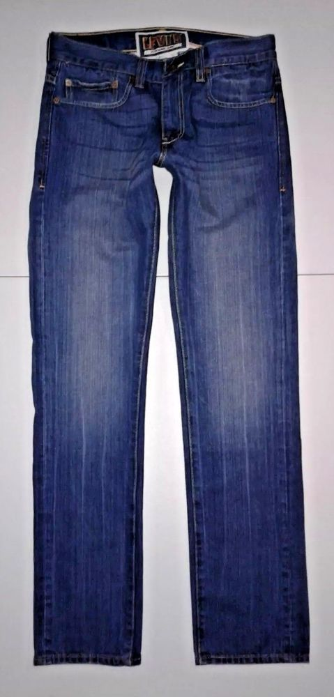 Men's Levis 511, 32x33, Classic, Red Tab, Skinny Jeans, (tag shows 33x32) #Levis #SlimSkinny