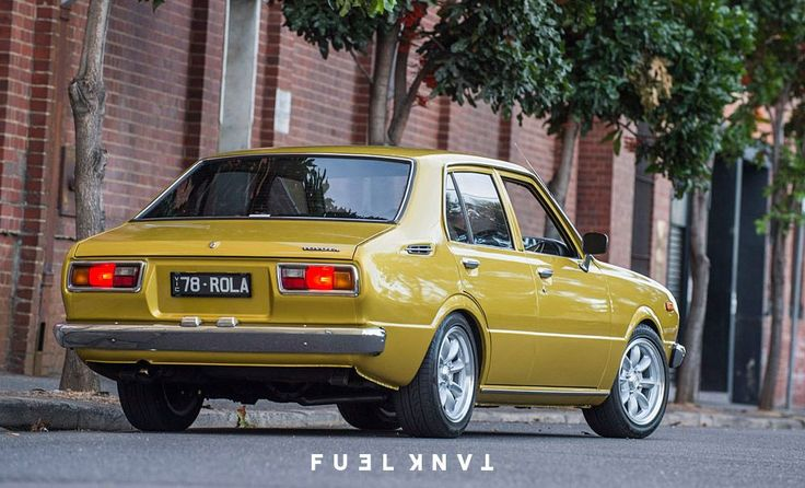 First Blood: 1978 Toyota KE30 Corolla Sedan — Fuel Tank
