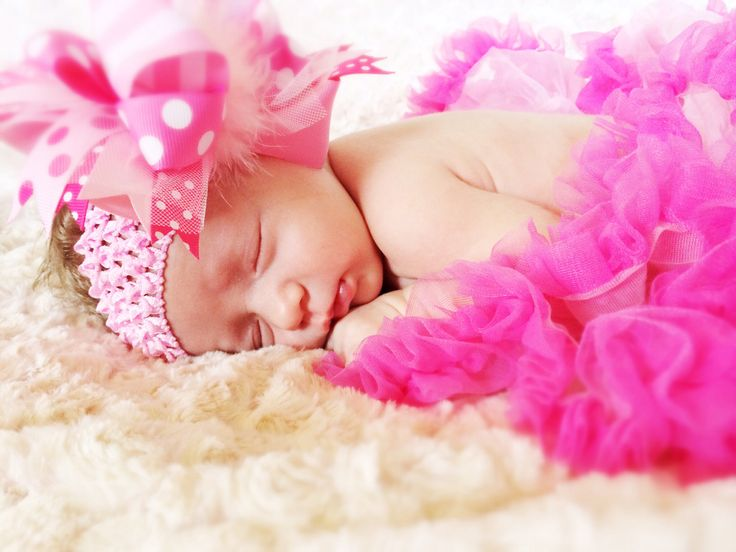 Petticoat newborn photo