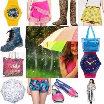 #Monsoon is here. Don't forget these monsoon #fashion essentials. Visit: http://www.togofogolooks.com