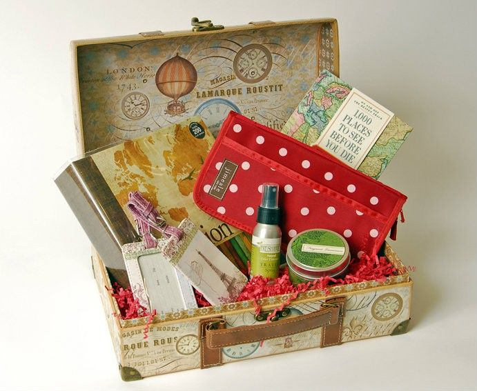 Travel Gift Basket