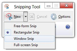 Tips & tricks on how to use, take or capture screenshots in Windows 10/8/7 using Snipping Tool. Also capture parts of Start Screen easily.