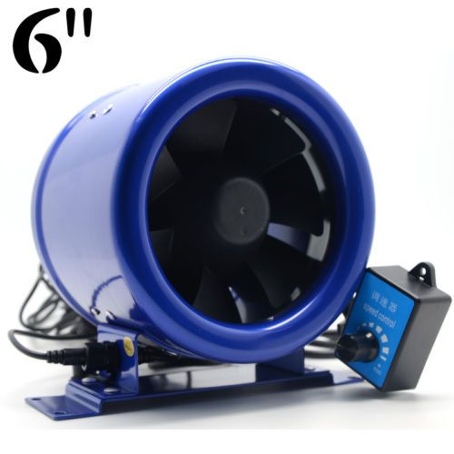 6-034-Inline-EC-Duct-Fan-w-Speed-Controller-Exhaust-Blower-Six-Inch-300CFM-powerful