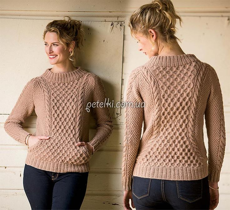 Stylish pullover Ropemaker.  Russian site - use Google Chrome to translate.