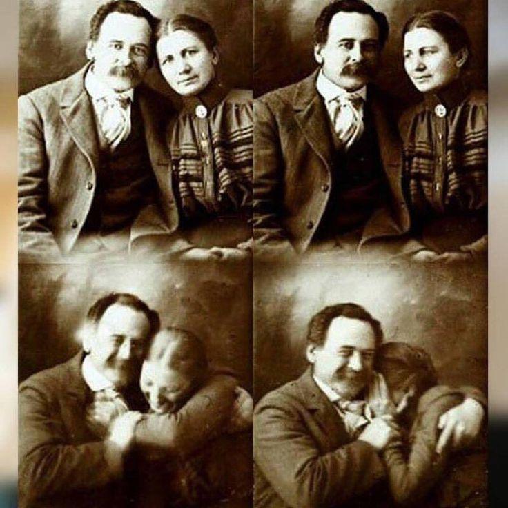 Un siglo atrás el tiempo de exposición fotográfica no bajaba de 3 segundos por lo qué - para salir bien- nuestros bisabuelos y tatarabuelos debían permanecer tan quietos cómo podían.  Sí para salir bien en las fotos de antaño nuestros tatarabuelos forzaban la seriedad con tal de no moverse. Pero es erróneo pensar que la gente es su foto.  Un típico error de percepción sería creer que en aquella época era gente gris y aburrida...sólo por qué así lo demandaba la tecnología de la época.  Una…
