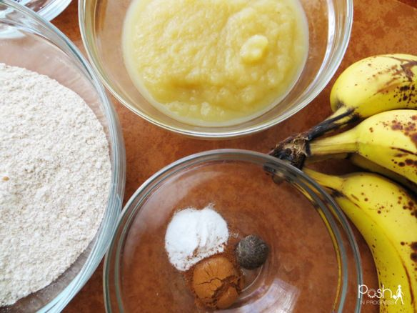 LowSugar AllNatural First Birthday Cake Recipe Bananas