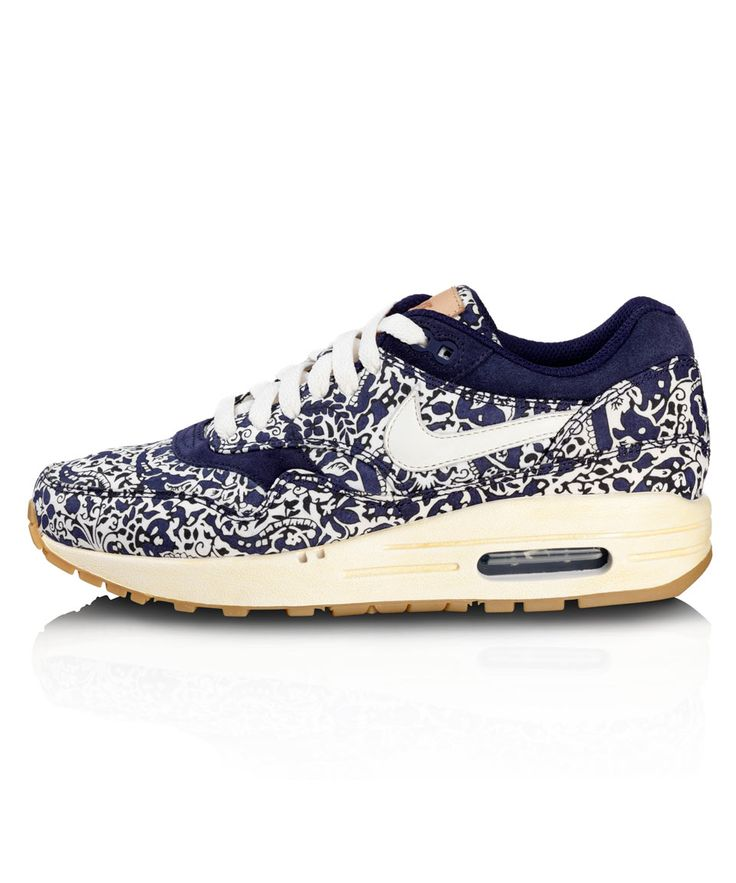 Imperial Purple Liberty Print Air Max 1 Trainers Nike X Liberty. Shop The  Latest Liberty Nike Collection At Liberty.