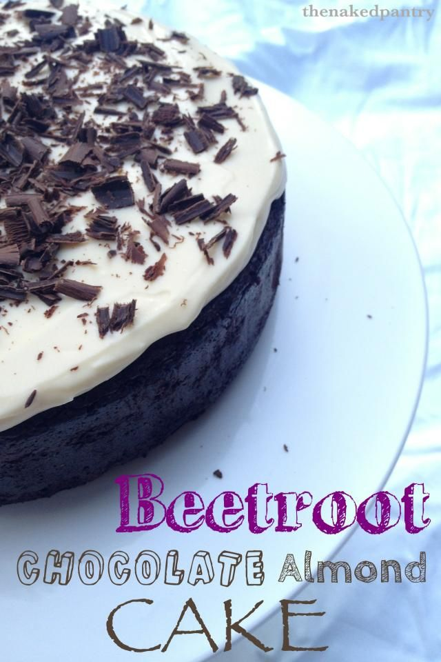 The Naked Pantry: Beetroot, Chocolate Almond Cake