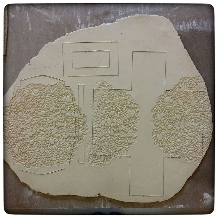 Slab Butter Templates Dish Pottery