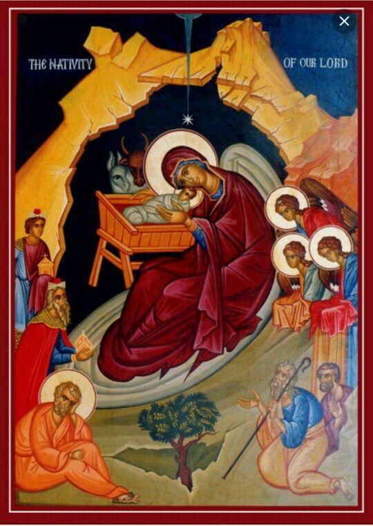 Oggi #Natale #ortodosso auguri a tutti gli #amici #fratelli in #Cristo !