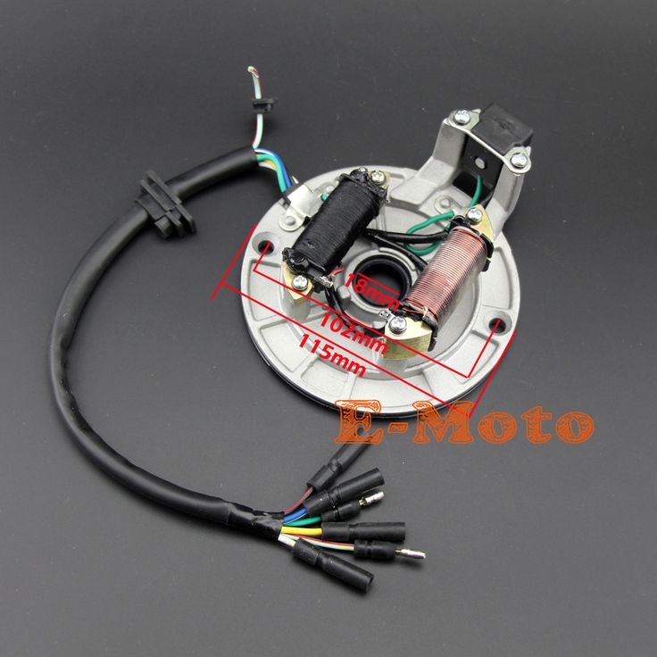 Diagram On 150cc Engine Wire Wiring Harness Xr50 Crf50 Lifan Wh02 In
