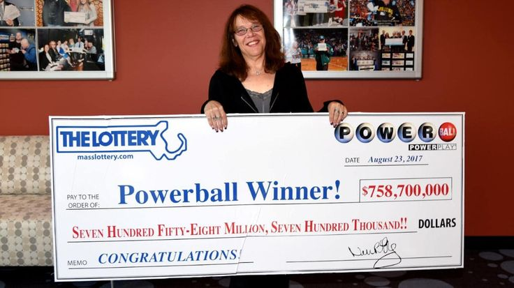 Winner of $758 million US lottery Powerball says she plans to celebrate by hiding in bed