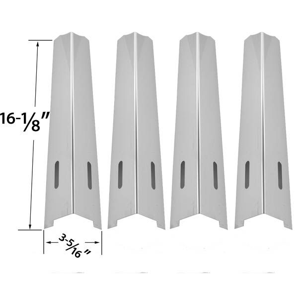 4 PACK REPLACEMENT STAINLESS STEEL HEAT SHIELD FOR LIFE@HOME, KENMORE, JENN-AIR, IGLOO, BBQTEK, BBQ GRILLWARE, KITCHENAID, KMART, MASTER FORGE, UNIFLAME AND PERFECT FLAME GAS GRILL MODELS  Fits Life@Home : GSC2318J , GSC2318JN , GSC2418J  BUY NOW @ http://grillrepairparts.com/shop/grill-parts/4-pack-replacement-stainless-steel-heat-shield-for-kenmore-jenn-air-igloo-bbqtek-bbq-grillware-kitchenaid-kmart-lifehome-master-forge-uniflame-and-perfect-flame-gas-grill-models/
