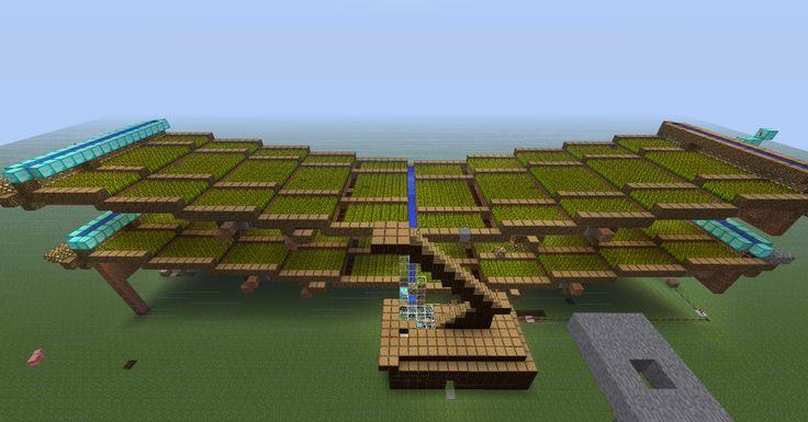 Massive Automatic Minecraft Wheat Farm! - Maps - Mapping and Modding - Minecraft Forum - Minecraft Forum